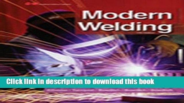 [Popular] Modern Welding Kindle Online