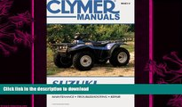 READ  Suzuki Lt-4Wd, Lt-F4Wdx   Lt-F250, 1987-1998 (Clymer Motorcycle Repair) FULL ONLINE