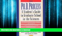 FAVORIT BOOK The Ph.D. Process: A Student s Guide to Graduate School in the Sciences by Bloom,