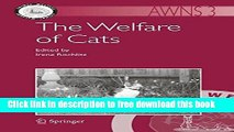 [Download] The Welfare of Cats (Animal Welfare) Kindle Free