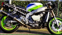 Kawasaki ZXR 400 W.I.P. PART 9 Test Drive