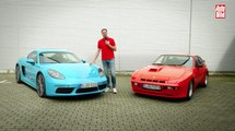 Comparativa: Porsche 718 Cayman contra el Porsche 924 Carrera GT
