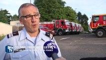 Incendie dans les Bouches-du-Rhône, la mobilisation gigantesque des pompiers français