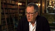 La Voleuse de Livres - Interview Geoffrey Rush VO