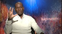 Black Nativity - Interview Tyrese Gibson VO