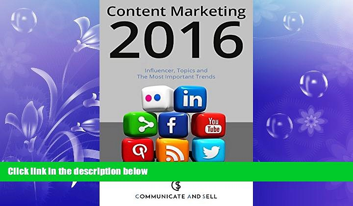 Free [PDF] Downlaod  Content Marketing 2016: Influencer, Topics and The Most Important Trends: 2.
