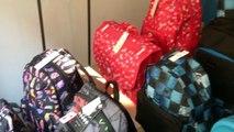Nouvelle collection  ROXY QUIKSILVER sac à dos cartable trolley trousse scolaire sur www.scaleboutik.com