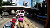 Hong kong island, From Central to Causeway bay, tram ride