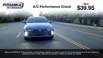 $39.95 Air Conditioning Service Special | Pohanka Hyundai Fredericksburg VA Richmond VA