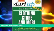FREE DOWNLOAD  Start Your Own Clothing Store and More: Women s, Men s, Children s, Specialty