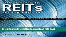 [Popular] Investing in REITs: Real Estate Investment Trusts (Bloomberg) Hardcover Collection