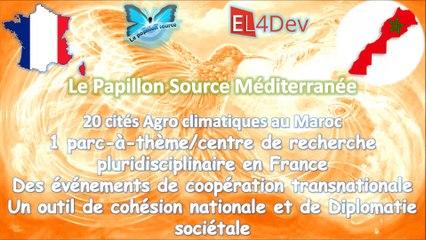 EL4DEV Le Papillon Source Méditerranée - Un outil de cohésion nationale et de diplomatie sociétale