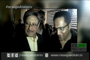 Farooq Naik Condole Hanif Mohammad Son