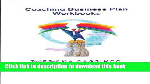 [Popular] Coaching Business Plan Workbook Kindle Online