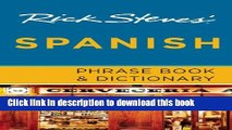 [Popular] Books Rick Steves  Spanish Phrase Book   Dictionary Free Online