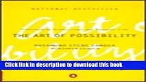 [Popular] The Art of Possibility: Transforming Professional and Personal Life Kindle Collection