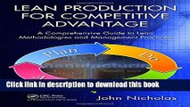 [Popular] Lean Production for Competitive Advantage: A Comprehensive Guide to Lean Methodologies