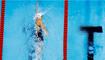 Katie Ledecky breaks Olympic record to lead 800m freestyle field