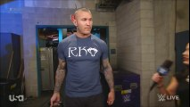 Charly Caruso Interviews Randy Orton
