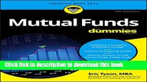 [Download] Mutual Funds For Dummies Kindle Online