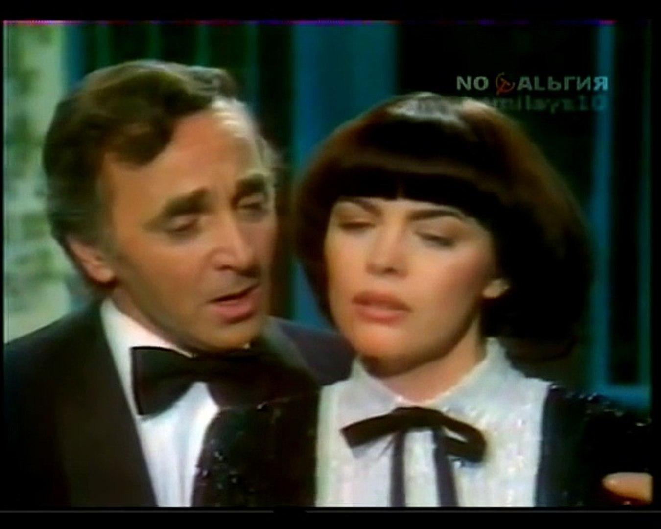 ETERNAL LOVE - Mireille Mathieu and Charles Aznavour.    ВЕЧНАЯ ЛЮБОВЬ - Мирей Матье и Шарль Азнавур
