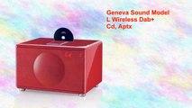 Geneva Lab Model L Floorstand Ipod Cd Radio Aux Video