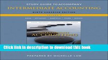 [Download] Study Guide to accompany Intermediate Accounting, Vol. 2 Kindle Online