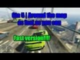 Gta 5 | Challange Around The Map As Fast As You Can | Fast version 2/2