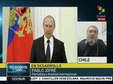 """Pablo Jofré: Occidente pretende reeditar la """"Guerra fría"""""""