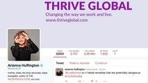 Arianna Huffington lascia l'Huffington Post per una nuova impresa