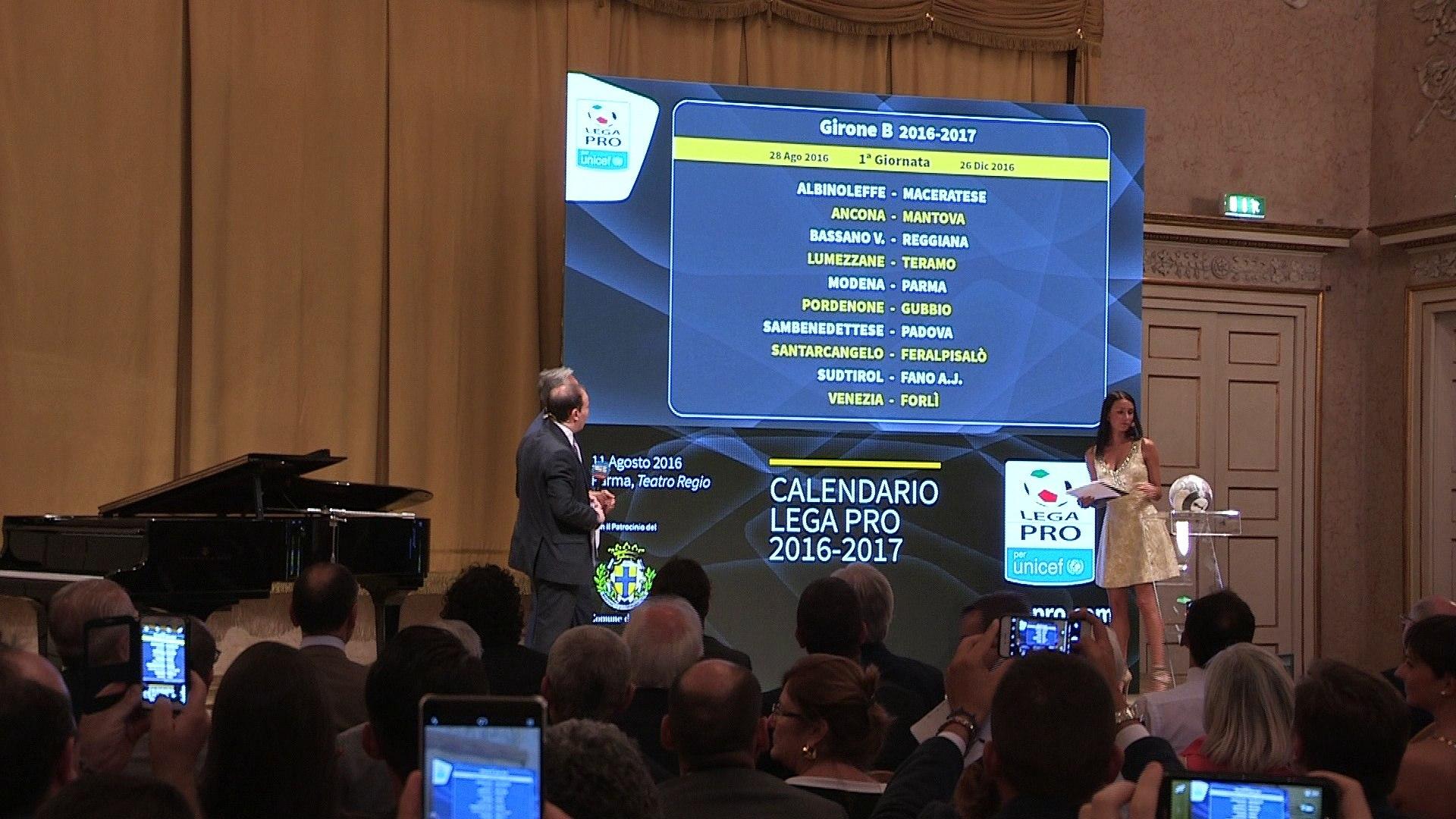 Calendario Parma Lega Pro.Calendari Lega Pro 2016 2017 Il Commento