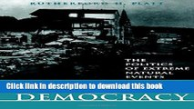 [Popular] Disasters and Democracy: The Politics Of Extreme Natural Events Kindle Online