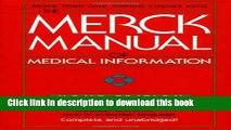[Download] The Merck Manual of Medical Information (Merck Manual Home Health Handbook (Quality))