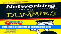 [PDF Kindle] Networking All-in-One Desk Reference For Dummies (For Dummies (Computers)) Free Books