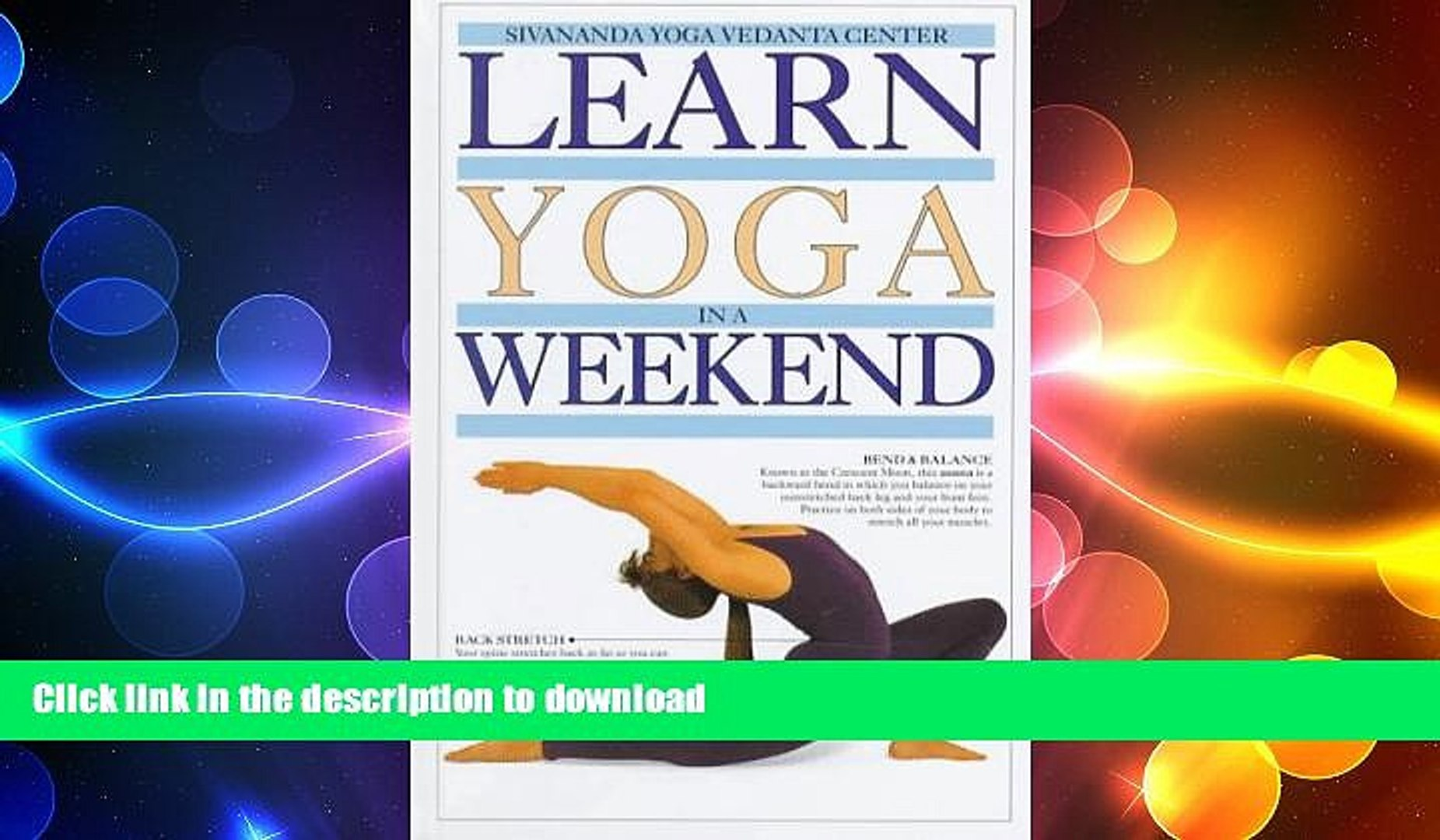 GET PDF  Learn Yoga in a Weekend (Learn in a Weekend Series)  BOOK ONLINE
