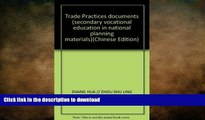 FAVORITE BOOK  Trade Practices documents (secondary vocational education in national planning