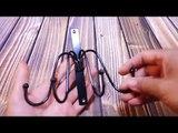 Marrywindix Black Metal 4 Hook Wall Mounted Hanger for Hanging Handbag, Coat Rack Review
