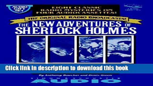 [Popular] The NEW ADVENTURES SHERLOCK GIFTSET #1 (Sherlock Holmes) Kindle Online