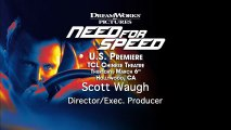 Need For Speed - Interview Scott Waugh (2) VO