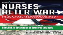 [Popular Books] Nurses After War: The Reintegration Experience of Nurses Returning from Iraq and