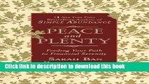 [Popular] Peace and Plenty: Finding Your Path to Financial Serenity Kindle Free