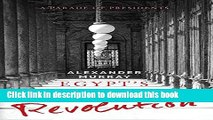 [Download] Egypt s Thousand Days of Revolution: A Parade of Presidents Kindle Free