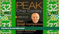 Must Have PDF  Peak: How Great Companies Get Their Mojo from Maslow  Best Seller Books Most Wanted