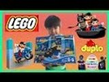 LEGO Duplo Batman Adventures with Superman and Wonder Woman | Liam and Taylor's Corner