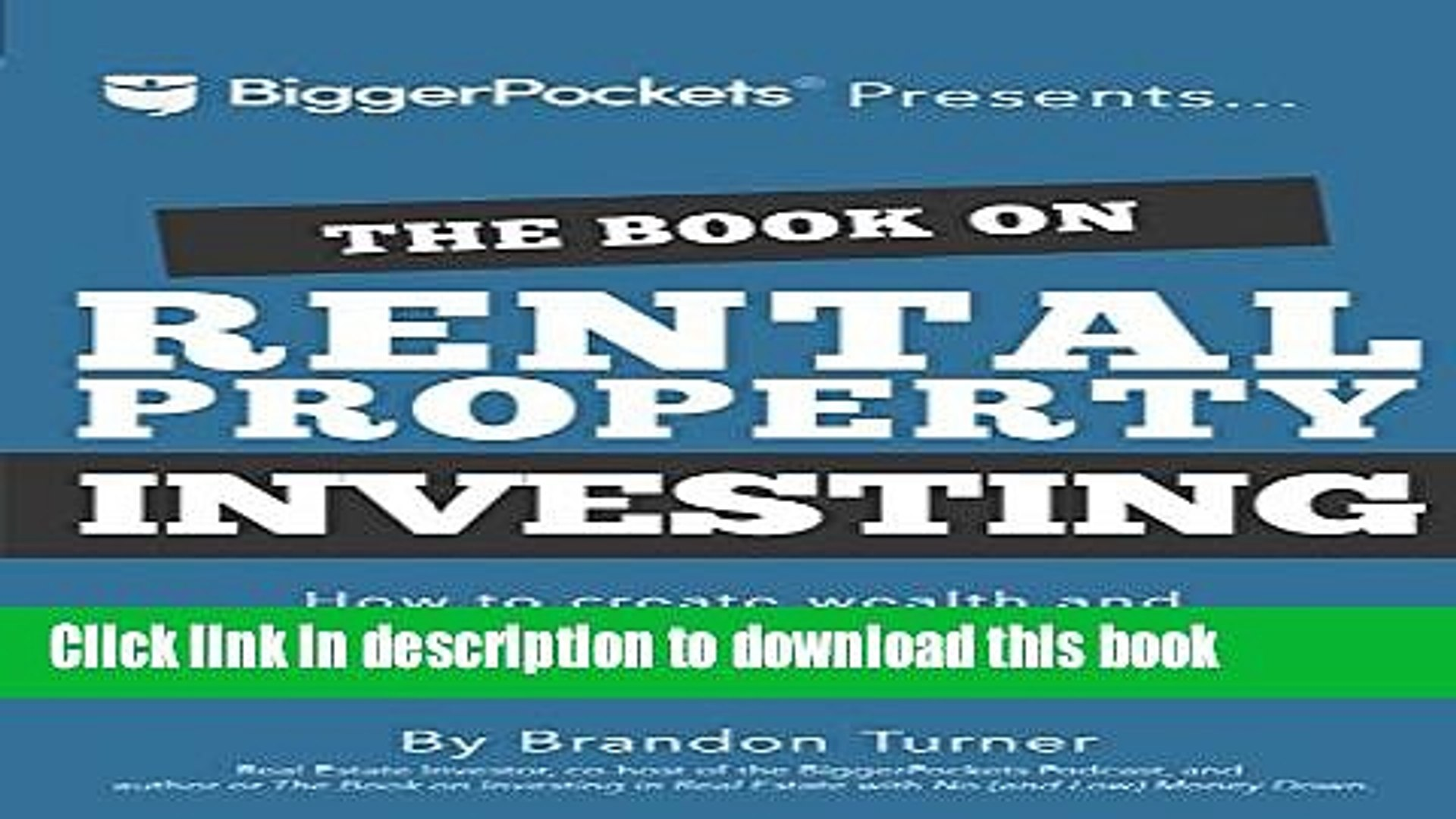 [Popular] The Book on Rental Property Investing: How to Create Wealth and Passive Income Through