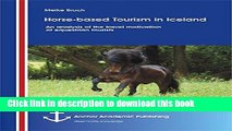 Books Horse-Based Tourism in Iceland - An Analysis of the Travel Motivation of Equestrian Tourists