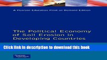 [Popular] Political Economy of Soil Erosion in Developing Countries, The Paperback Online