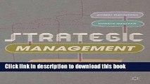 [Download] Strategic Management: Strategists at Work Paperback Free