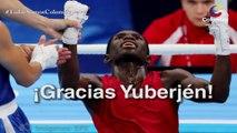 Yuberjén Martínez a una de ganar el oro en los Juegos Olímpicos  [Colombia.com]