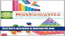 [Popular] Guiding Children s Learning of Mathematics Paperback Collection